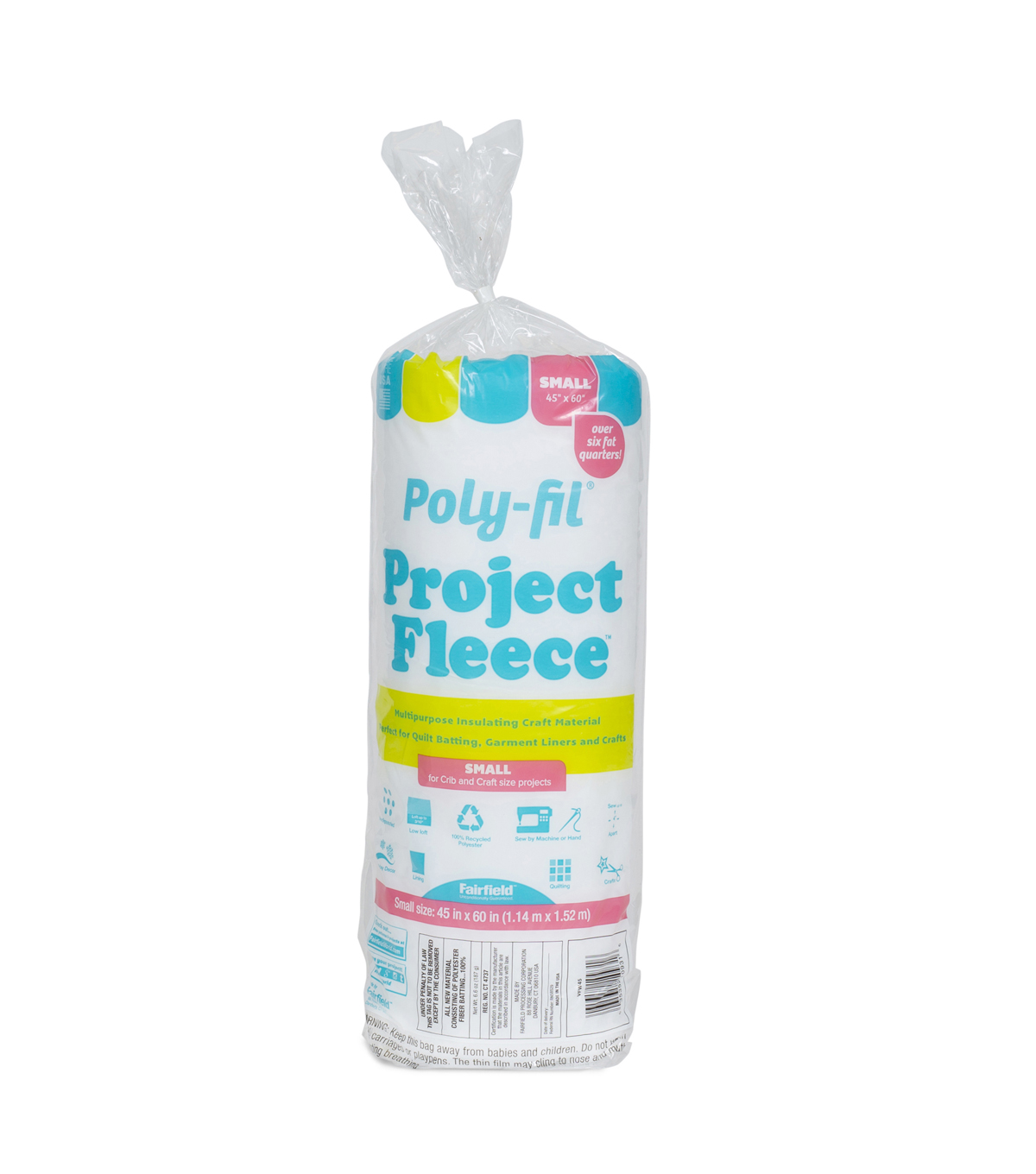 Poly-Fil Project Fleece Batting 45\u0022 x 60\u0022