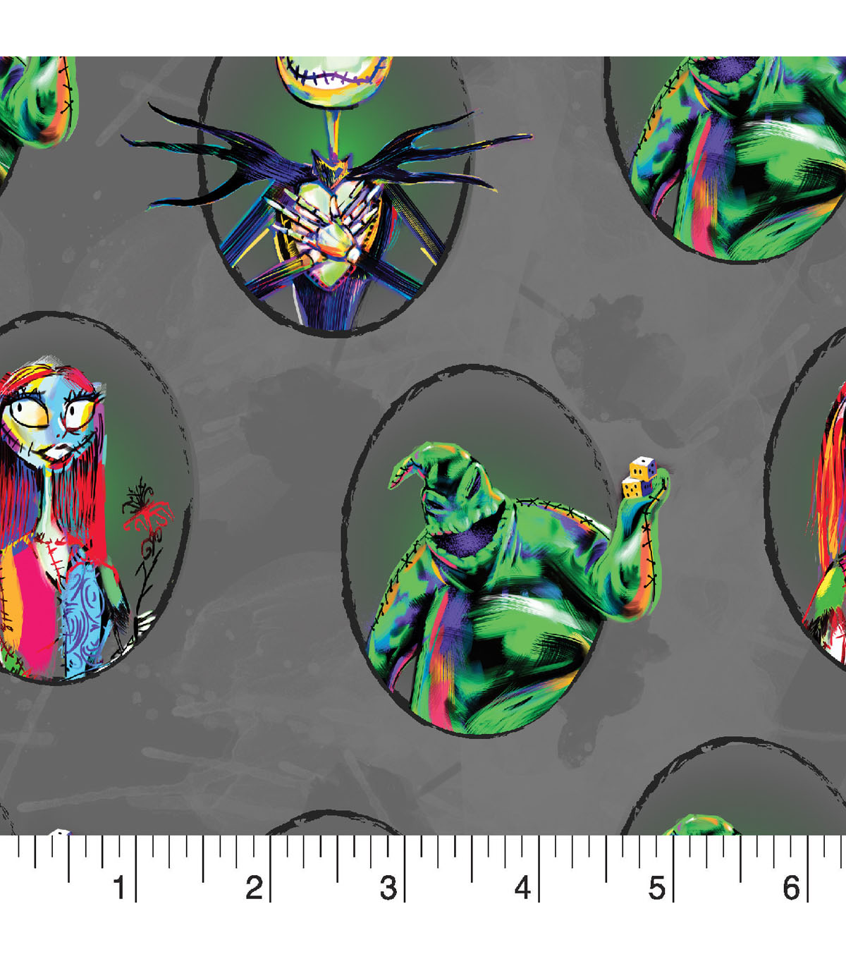 Nightmare Before Christmas Halloween Cotton Fabric 43\