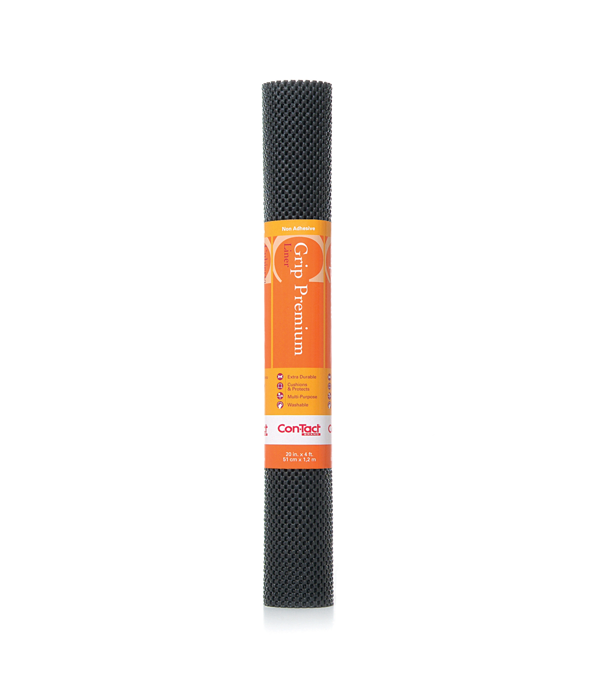 20in x 4ft Contact Grip Liner Premium-Black