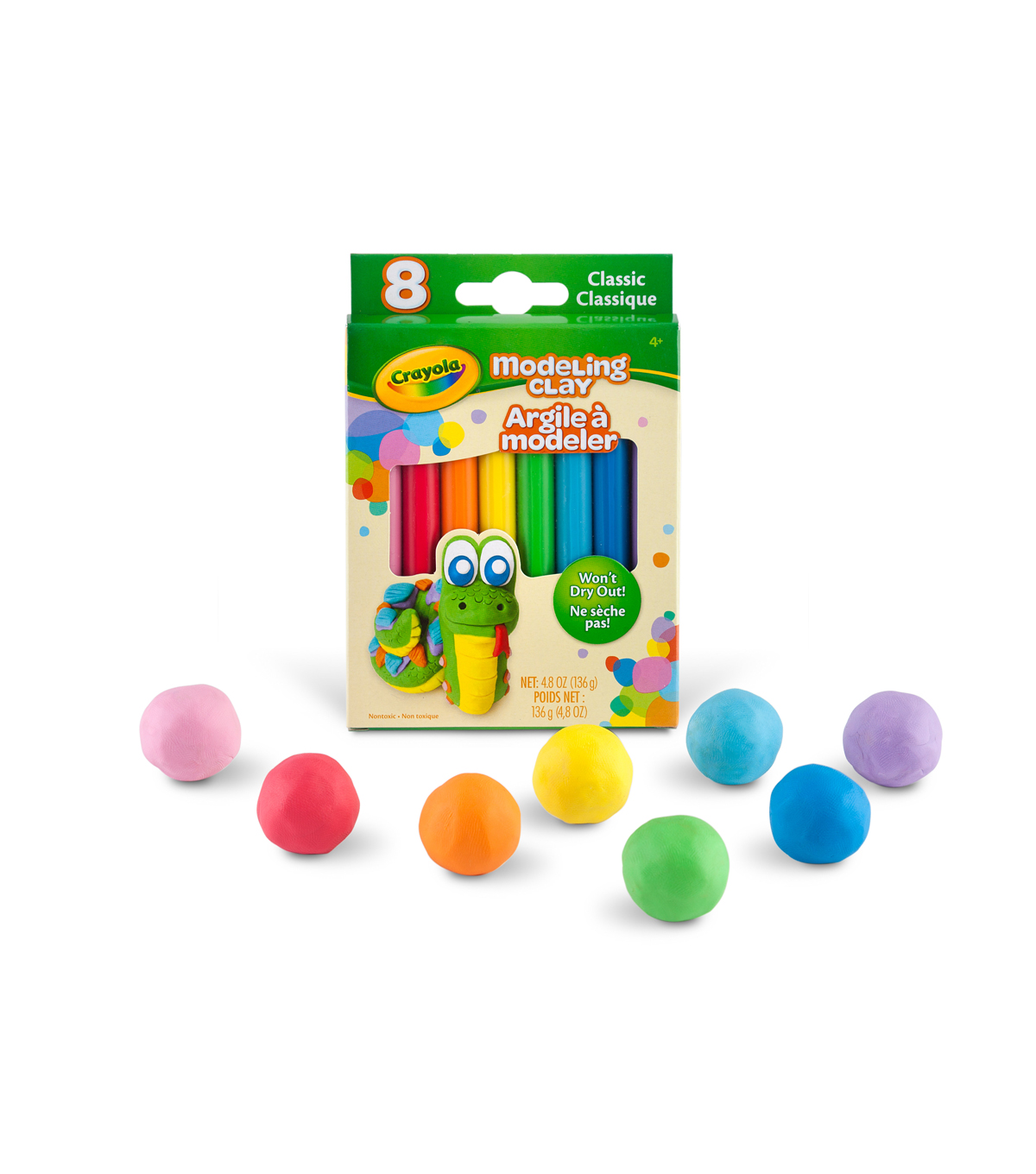 Crayola 8ct Modeling Clay-Classic