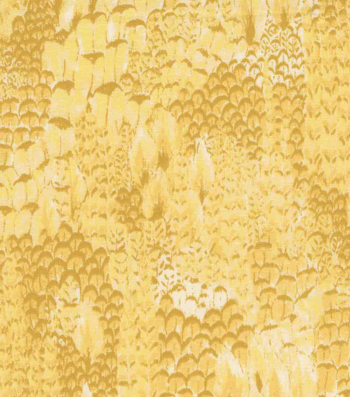 Keepsake Calico Cotton Fabric 44\u0027\u0027-Lemon Cato