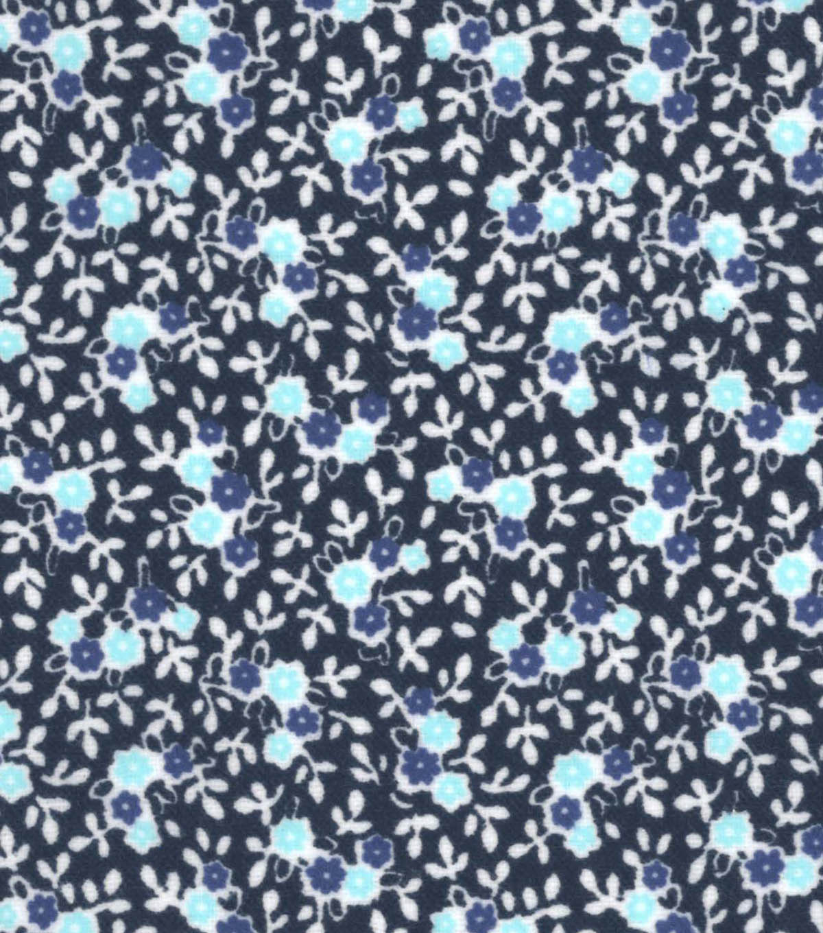 Snuggle Flannel Fabric 42\u0022-Peacock Ditsy Floral