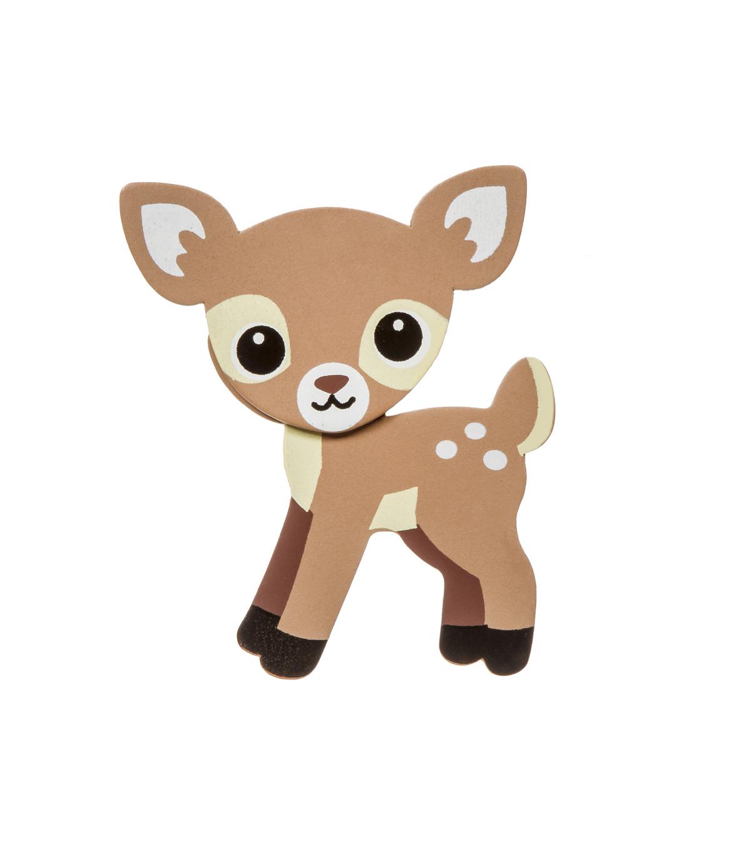 Woodland animal painted wood shape deer joann woodland animal painted wood shape deer publicscrutiny Gallery