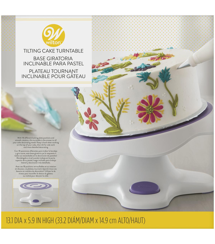 Wilton Cake Turntable - Tilt-N-Turn Cake Turntable | JOANN