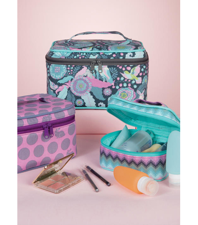McCall\u0027s Pattern M7487 Travel Cases in Three Sizes