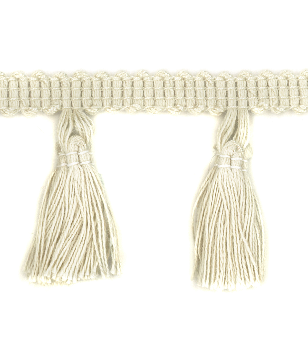 Simplicity Trims-2\u0022 Tassel Fringe Natural