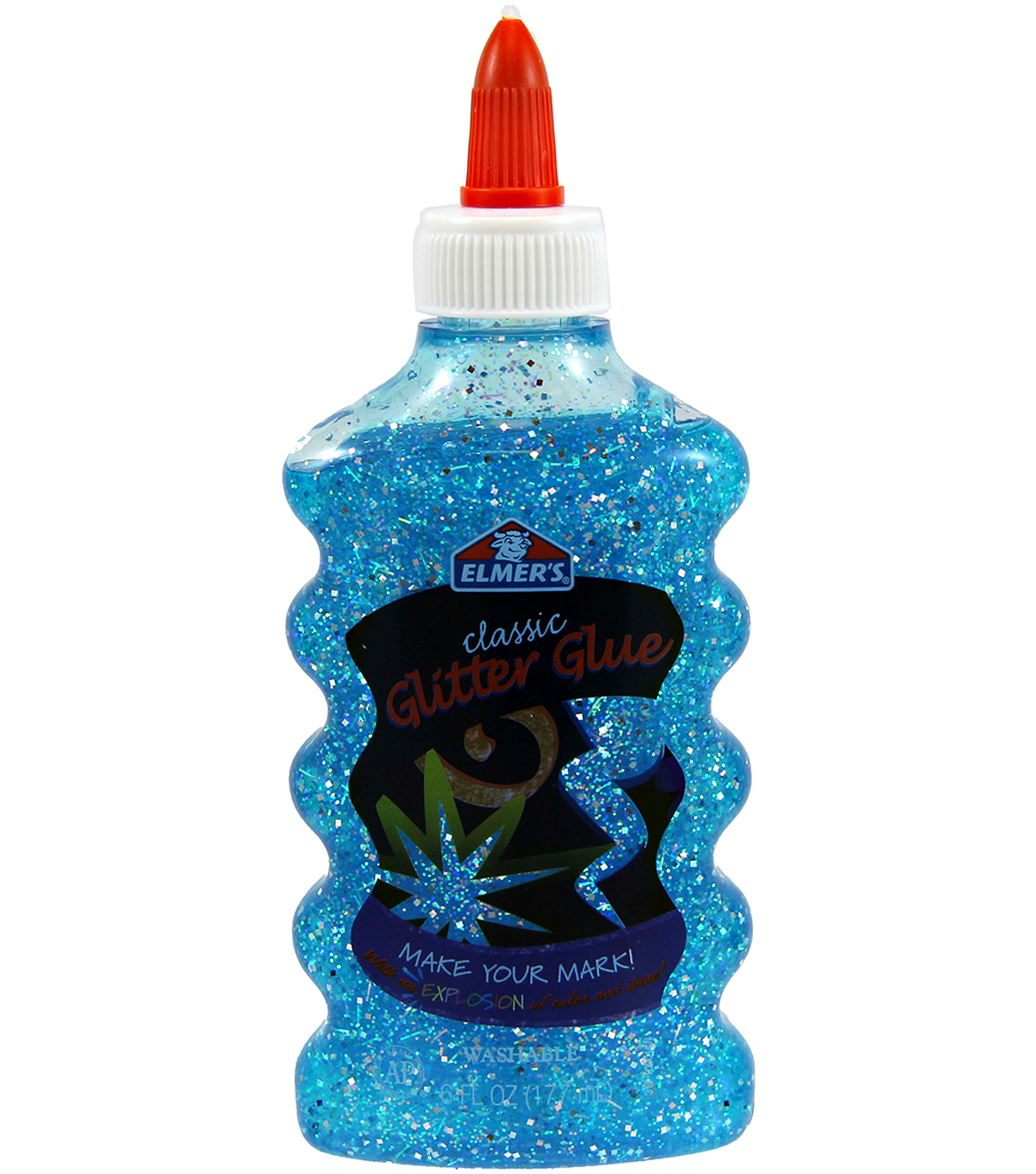 Elmers Glitter Glue 6oz Bottle