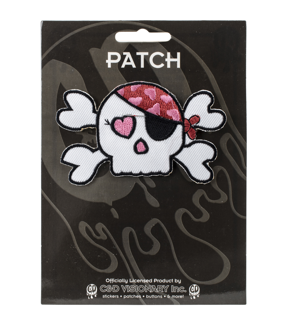 Patch-Girly Pirate Skull