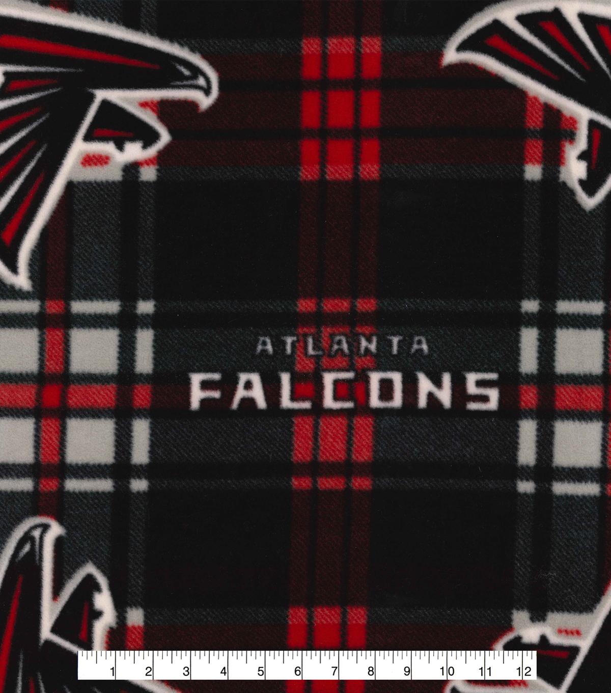 3b2a6900d Atlanta Falcons Fleece Fabric -Plaid