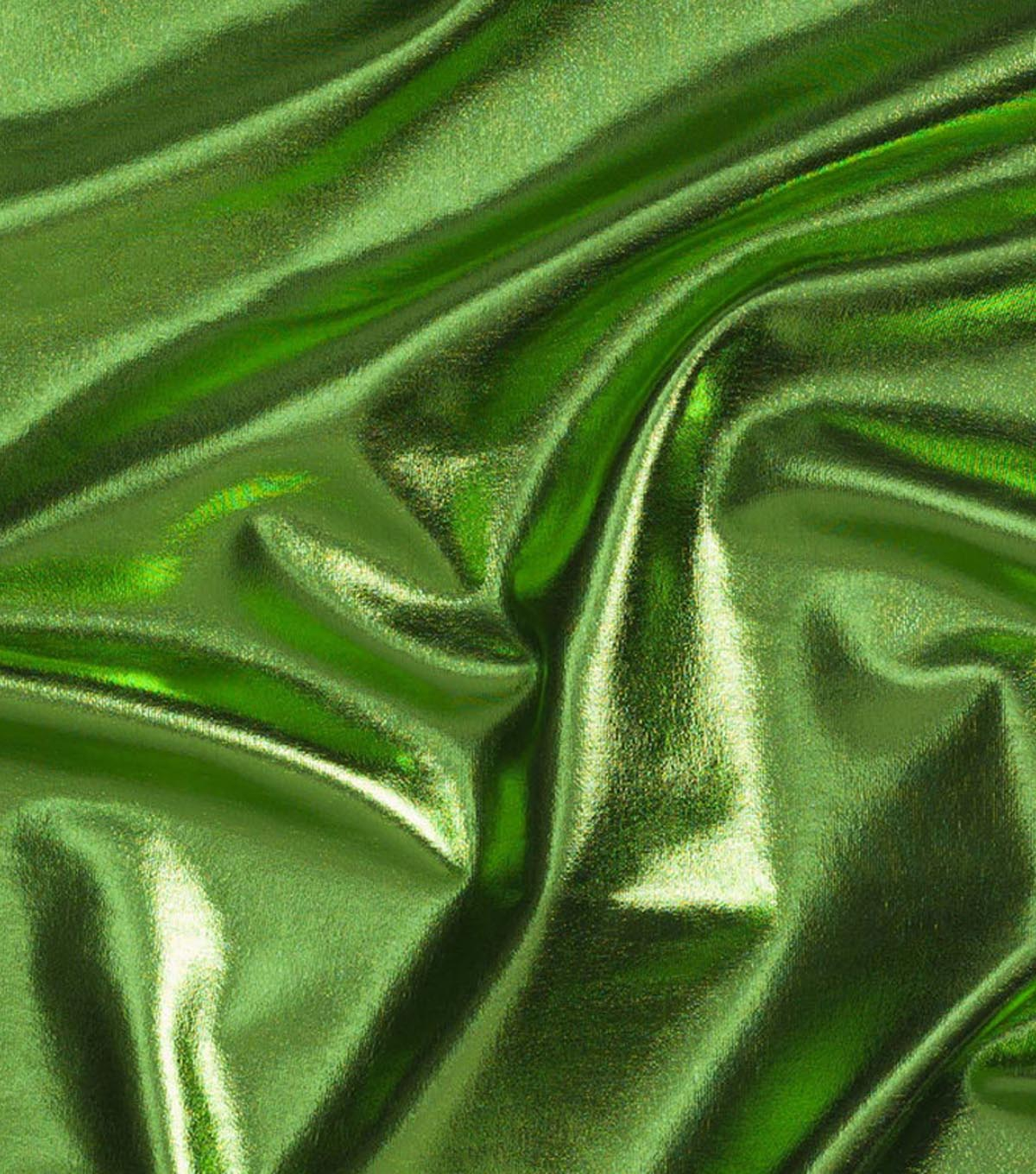 Cosplay by Yaya Han 4-Way Metallic Fabric -Metallic Lime