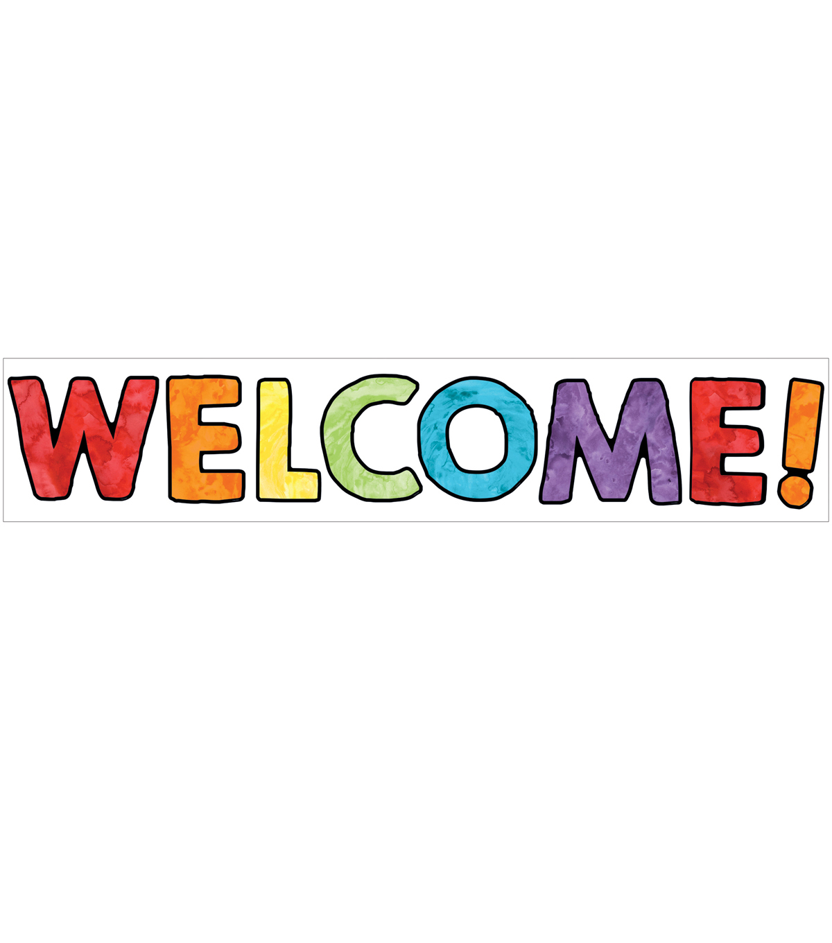 Celebrate Learning Welcome Bulletin Board Set