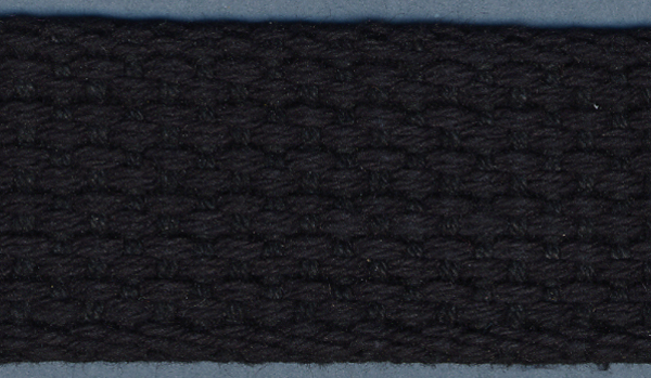 Cotton Belting 1\u0022 Wide 10 Yards-Black