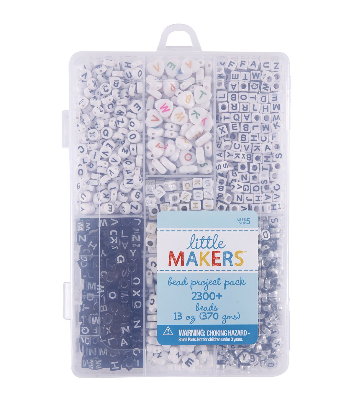 Little Makers 13 oz. Bead Project Pack-Letters