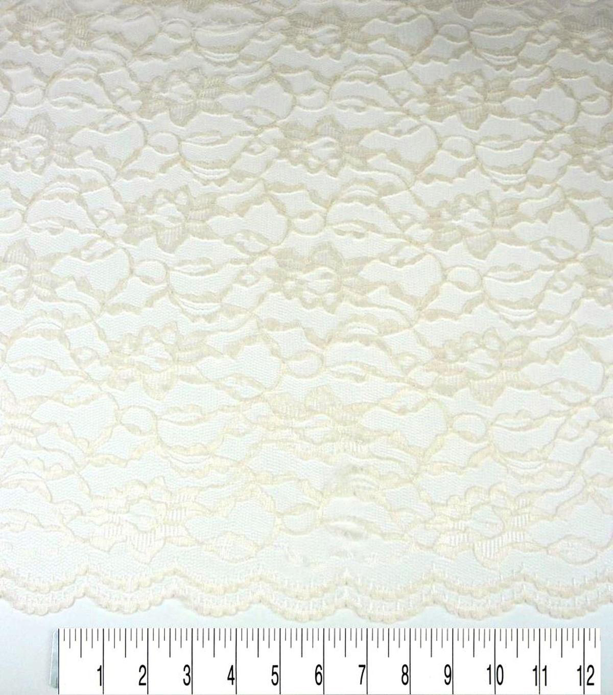 Casa Collection Lace Fabric -Eggnog