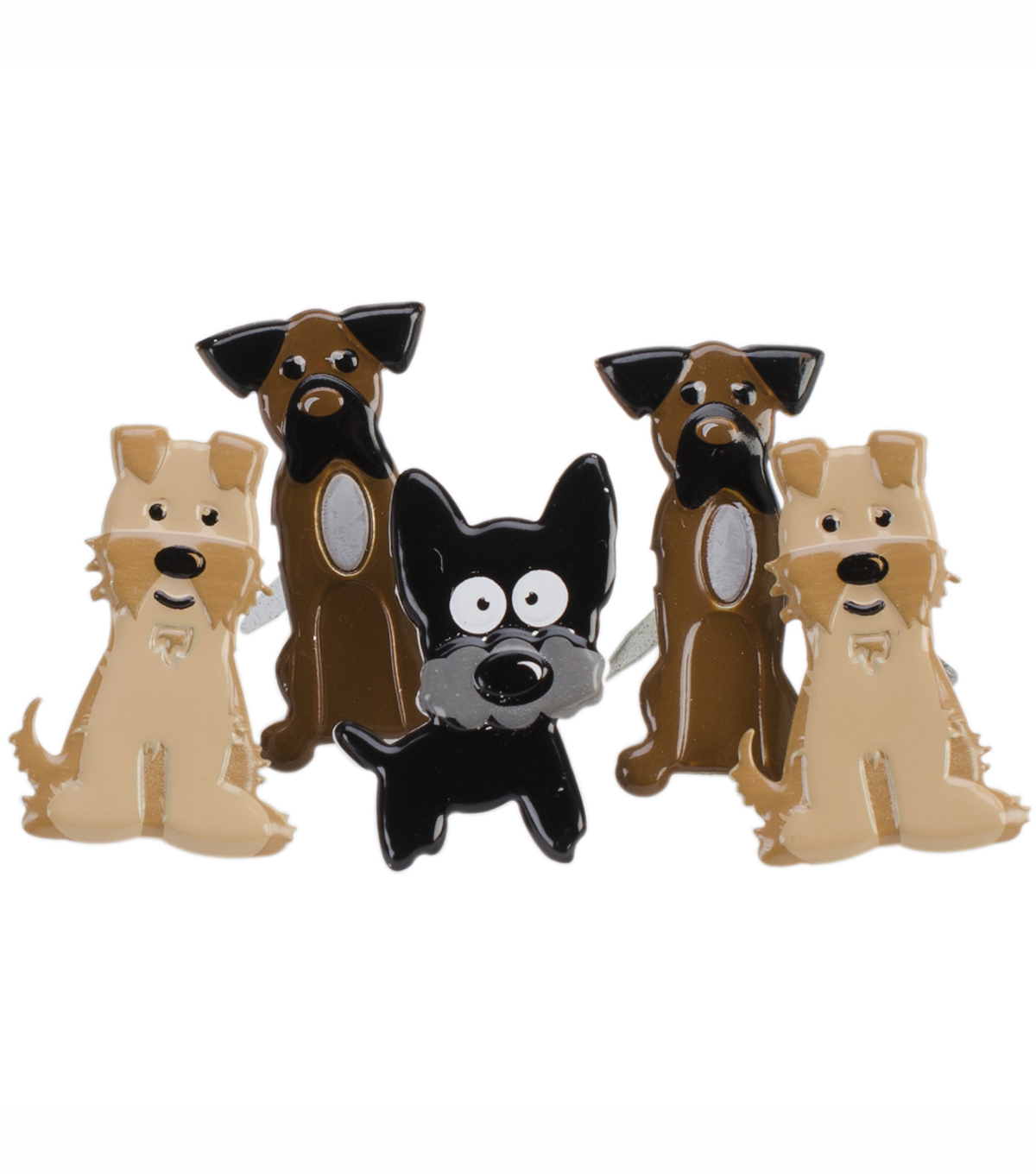 Eyelet Outlet Brads-Puppy