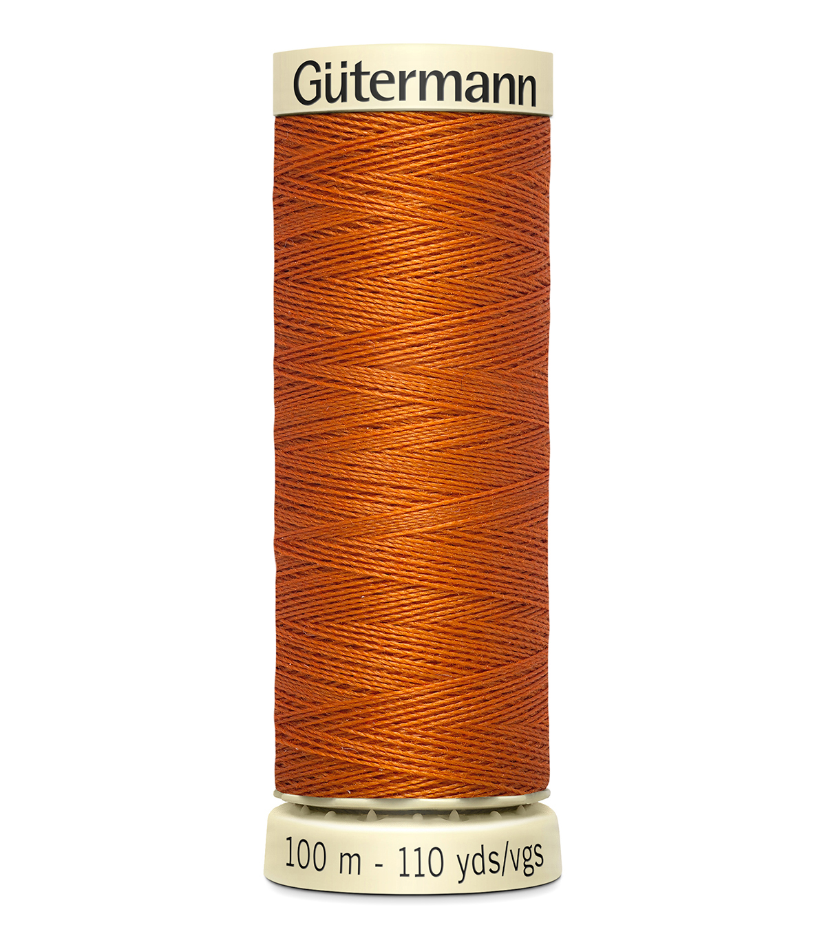 Gutermann Sew All Polyester Thread 110 Yards-Oranges & Yellows , Curry #474