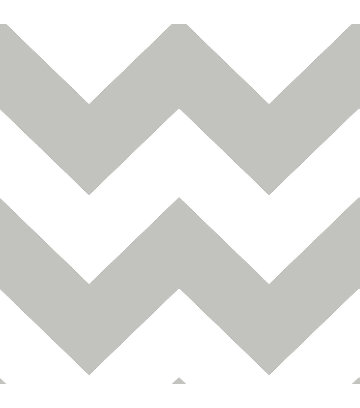 WallPops NuWallpaper Grey Chevron  Peel  & Stick Wallpaper