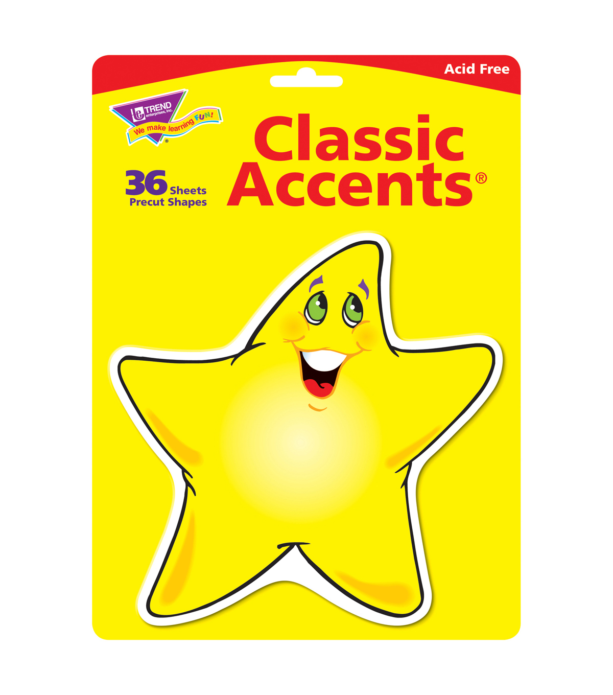 Shining Stars Classic Accents, 36 Per Pack, 6 Packs