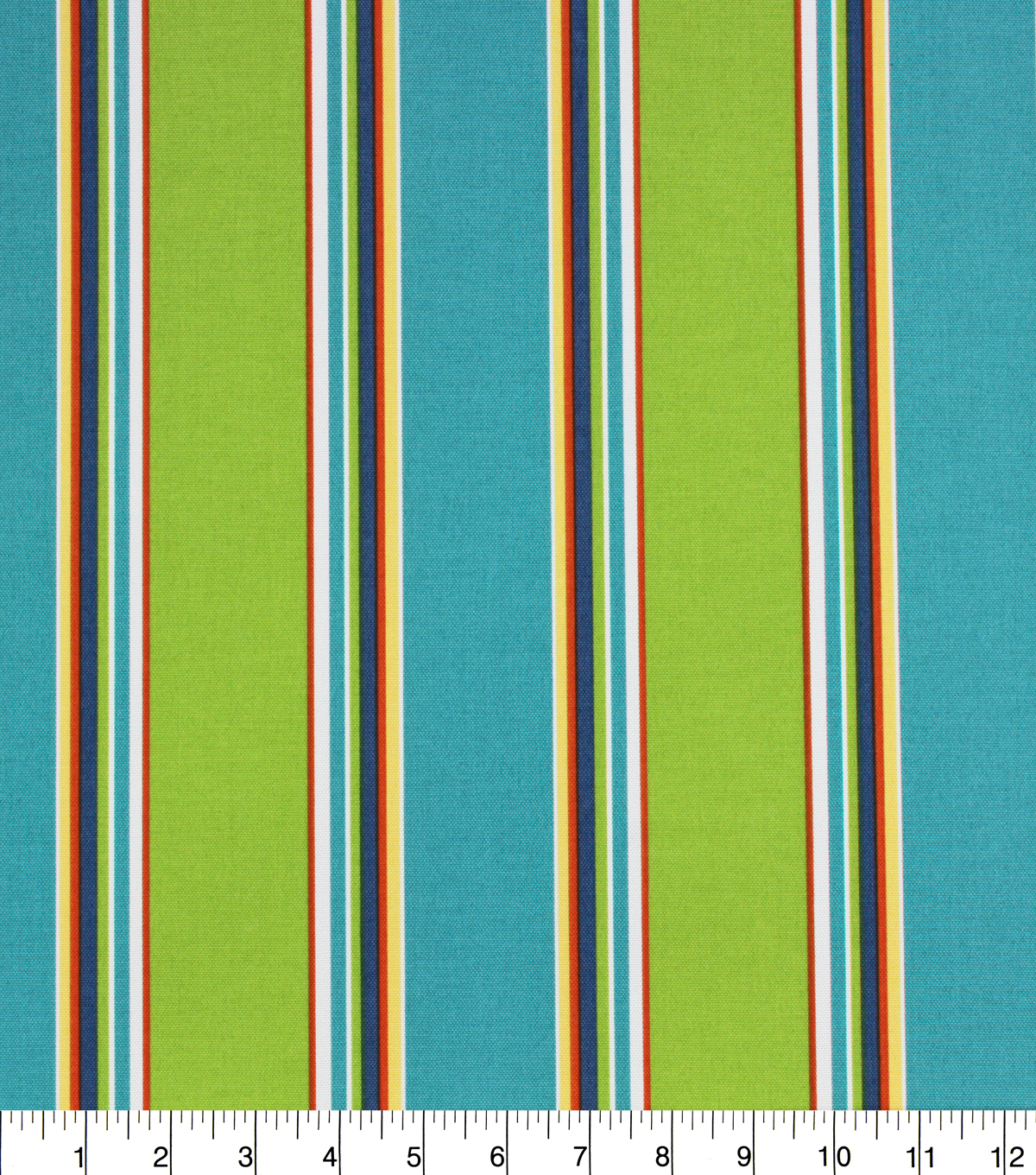 Solarium Outdoor Fabric 54\u0027\u0027-Blue & Green Stripes