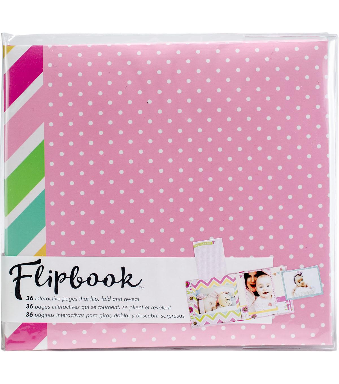Paper House Flipbook Interactive Album Baby Girl Joann