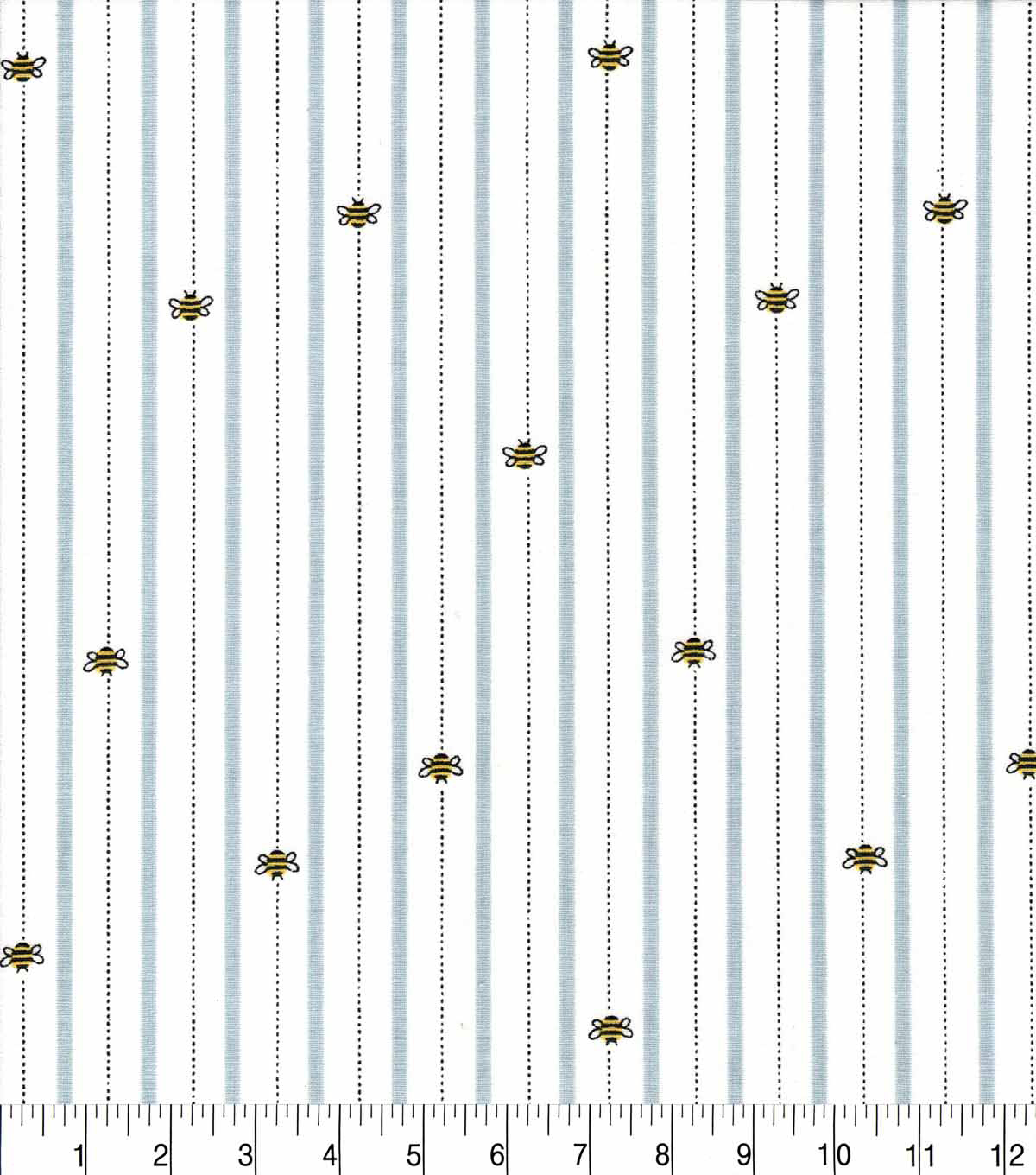 Nursery Cotton Fabric-Bee Line