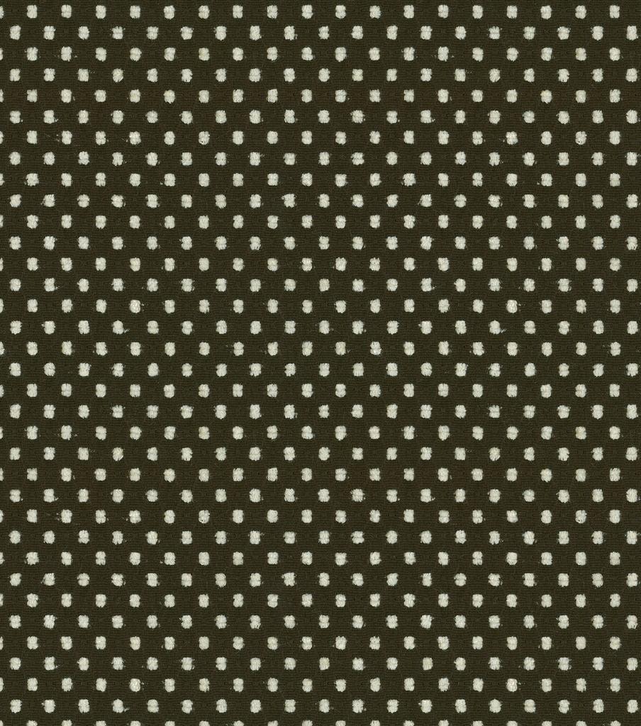Fabric Waverly Prussian Dot Onyx