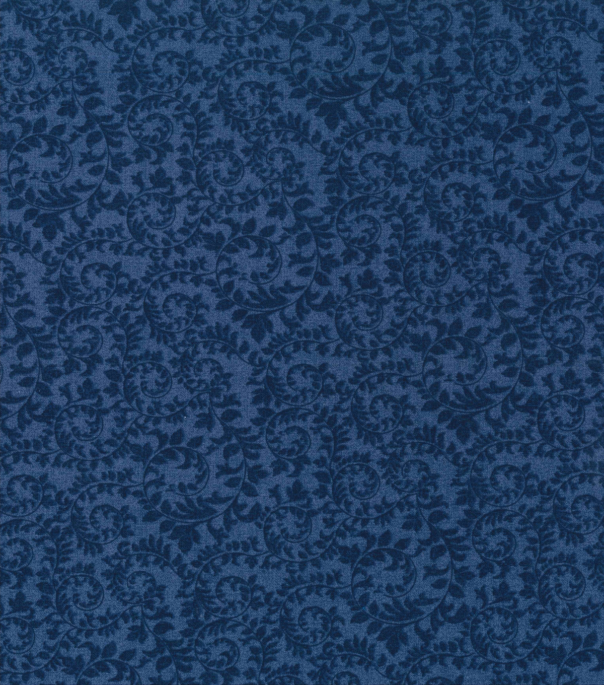Keepsake Calico Cotton Fabric -Swirling Vines Blue
