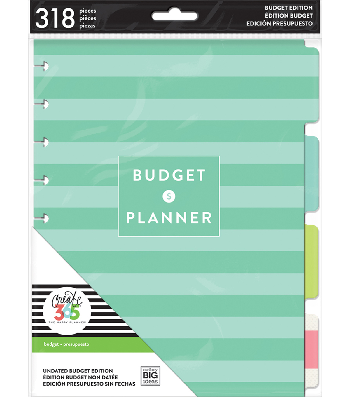 The Happy Planner Budget Edition Expansion Pack