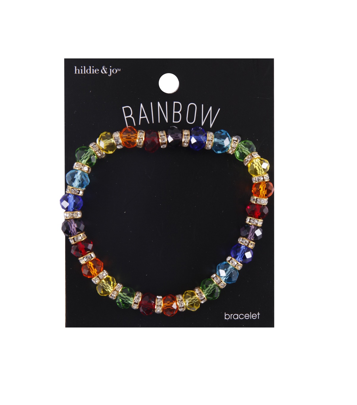 hildie & jo Rainbow Glass Bracelet
