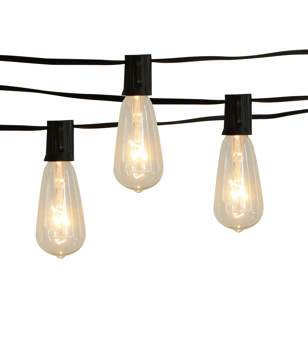 Hudson 43 Candle & Light Collection St40 Clear Edison Bulb String Lights