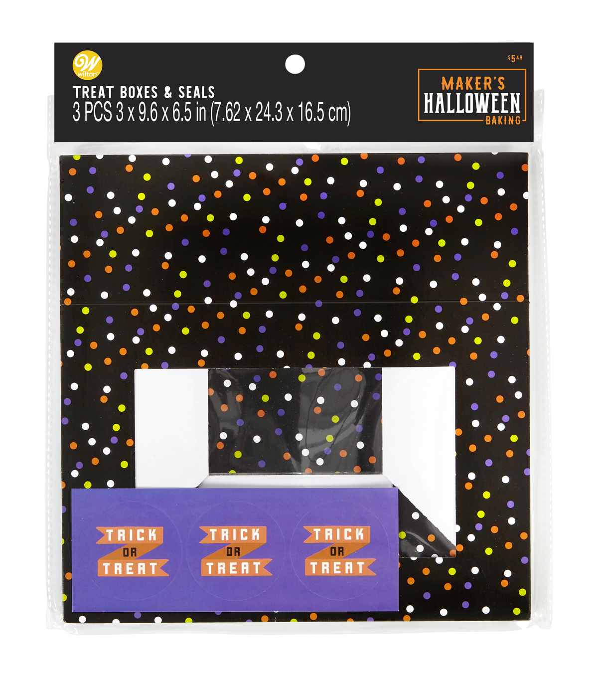 Wilton Treat Boxes-Polka Dots