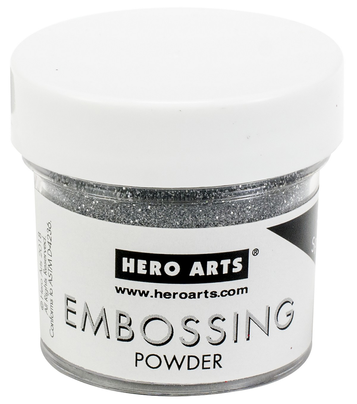 Hero Arts Embossing Powder -Silver Sparkle