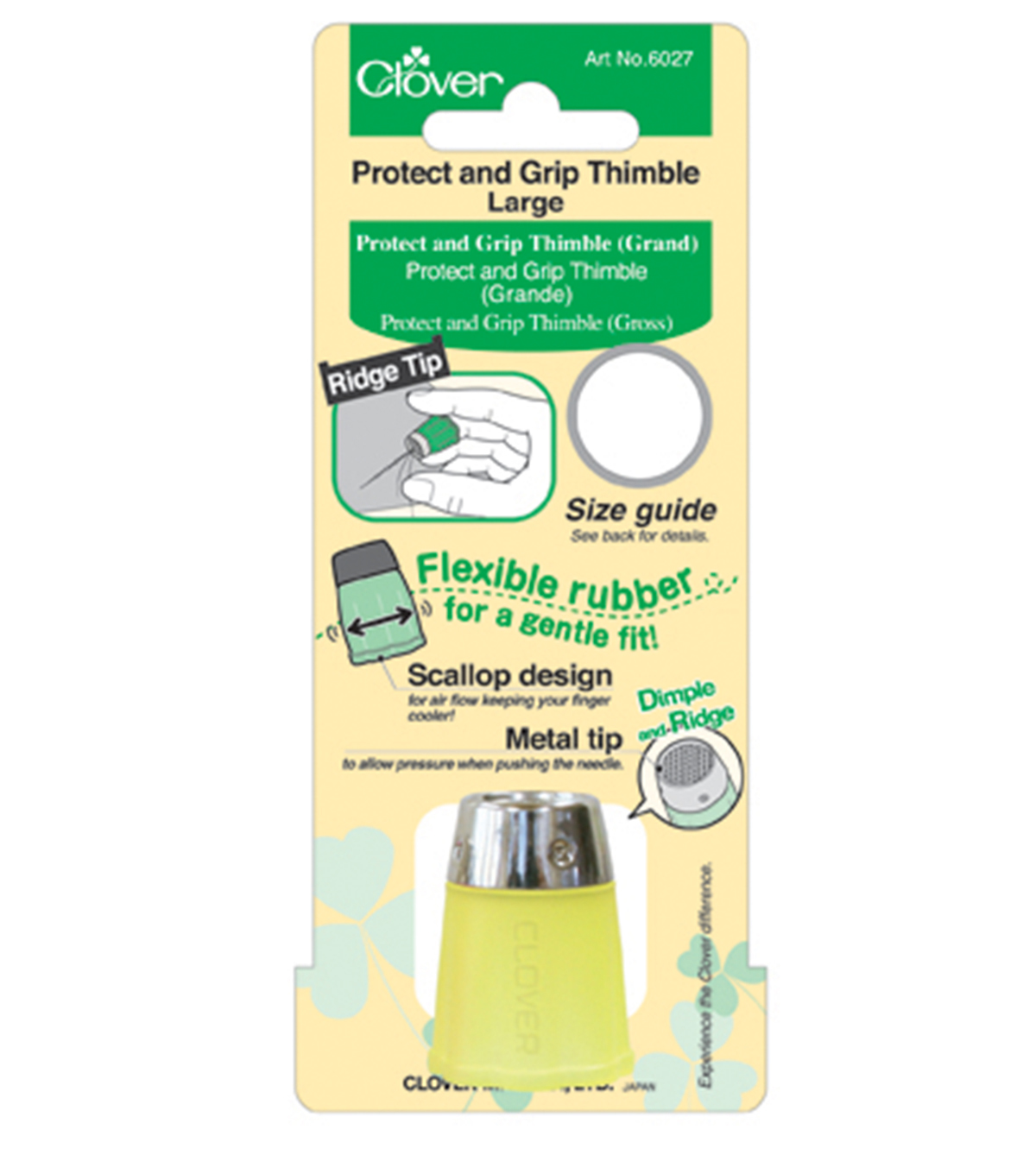Protect & Grip Thimble-Large