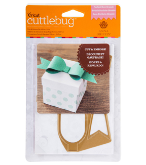 Cuttlebug Anna Griffin Die A2 Perfect Bow Grande