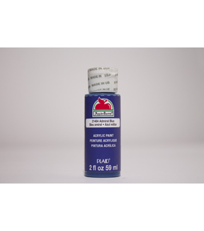 Apple Barrel 2 fl. oz. Acrylic Paint, Admiral Blue
