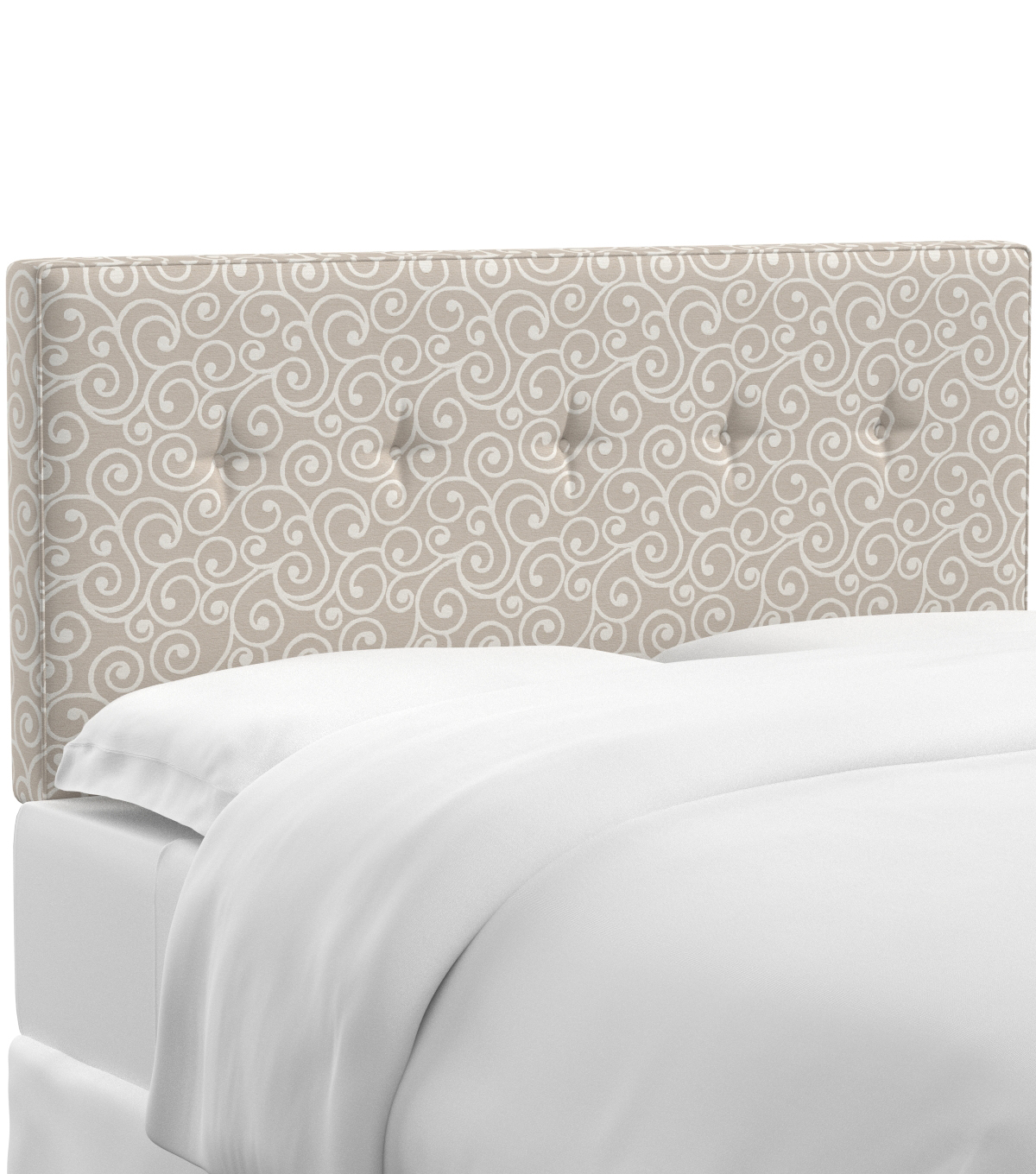 Skyline Furniture Five Button Headboard-California King