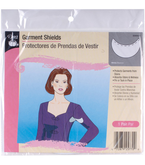Dritz Garment Shields White 1pair