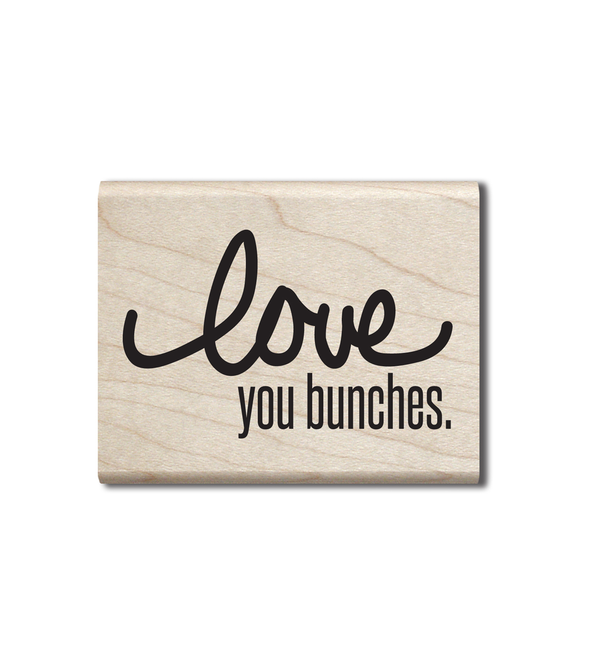 Jillibean Soup Wood Stamp-Love You Bunches