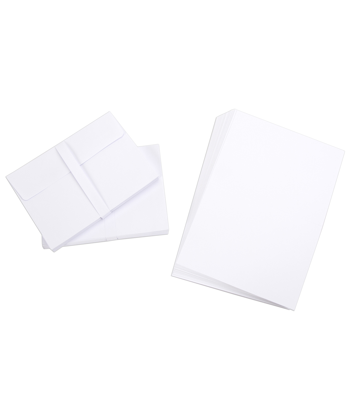 Core\u0027dinations Card/Envelopes:  A7 White; 50 pack