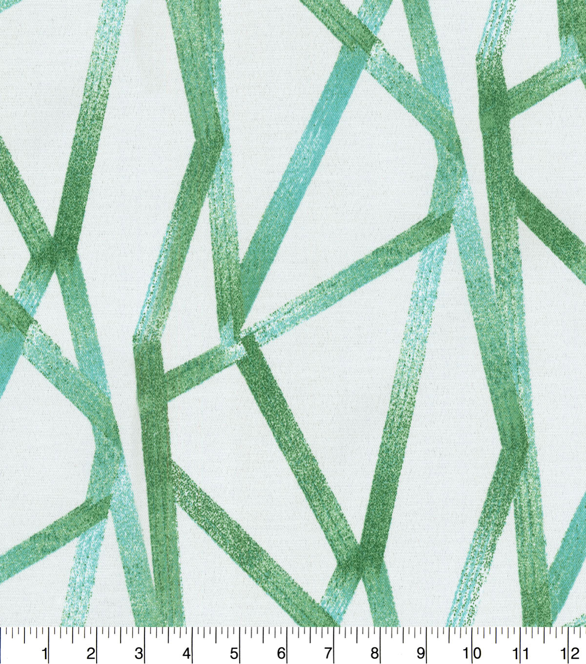 Genevieve Gorder Outdoor Fabric 9\u0022x9\u0022 Swatch-Intersections Palm