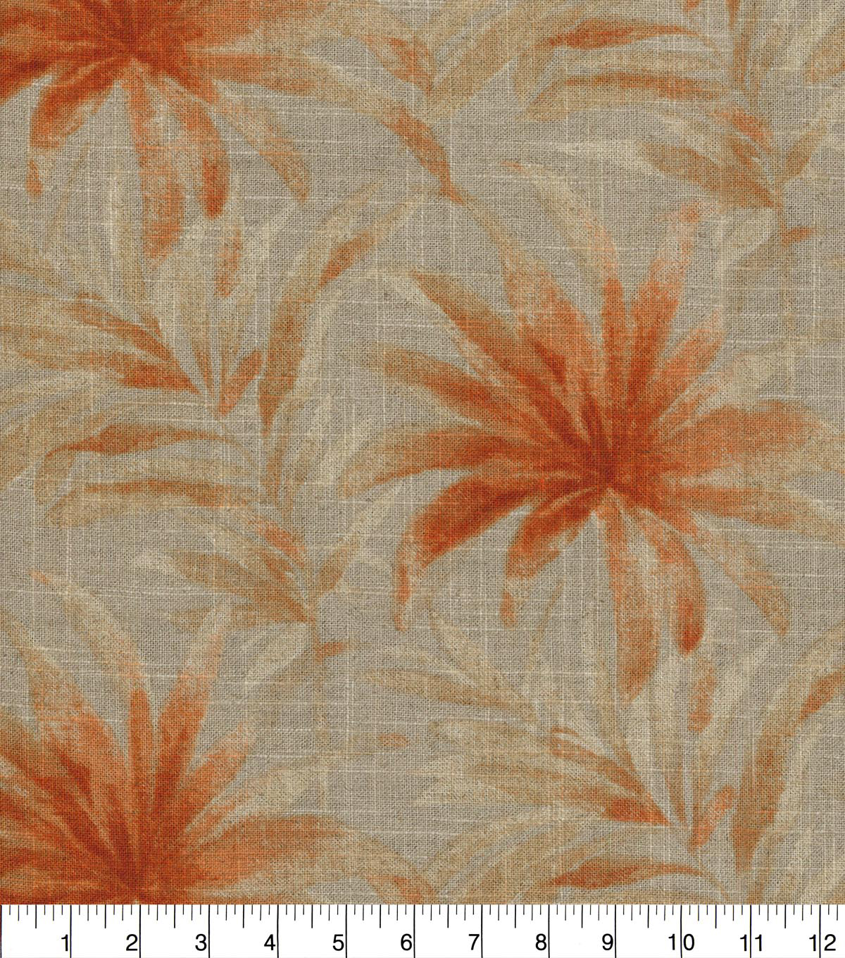 Home Decor 8\u0022x8\u0022 Fabric Swatch-Tommy Bahama Balmy Days Nutmeg