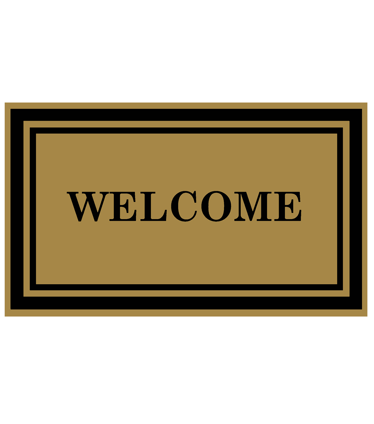 Mohawk Home 18\u0027\u0027x30\u0027\u0027 Grand Terrace Simplified Welcome Doormat-Natural