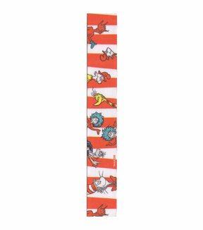Stripes Seuss Poly Print 3yd 7/8