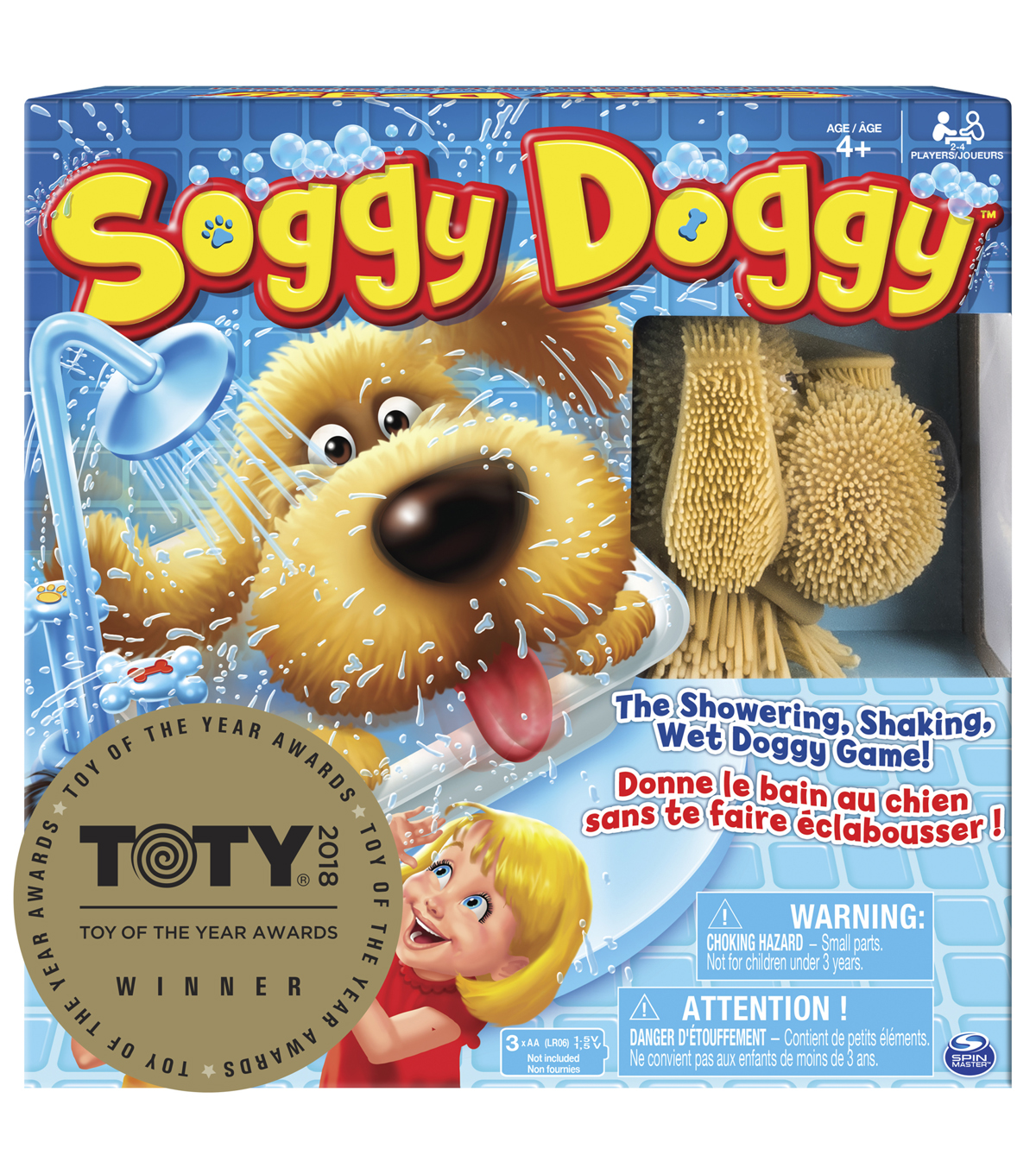 Spin Master Soggy Doggy Board Game