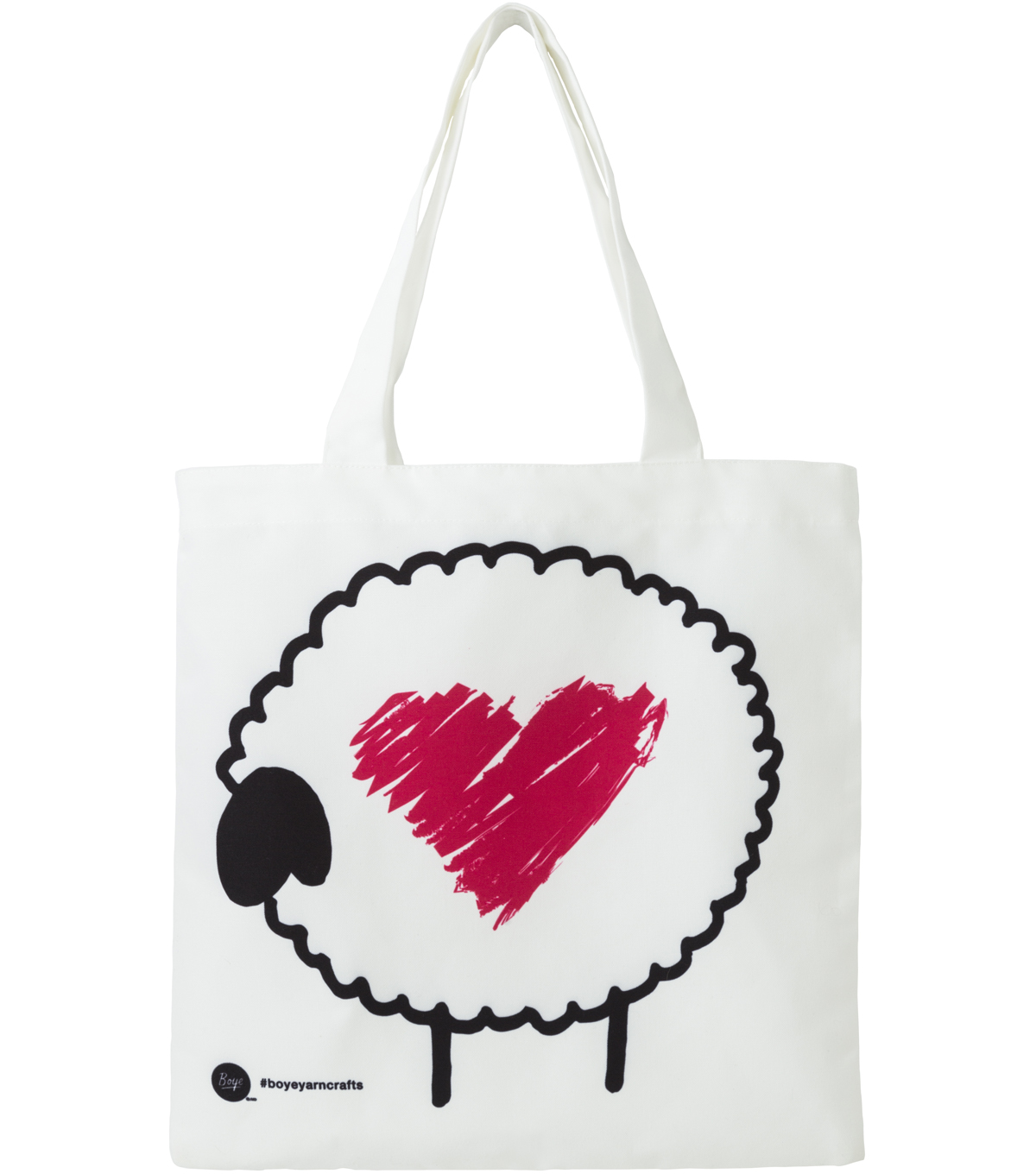 Boye Printed Tote-Sheep