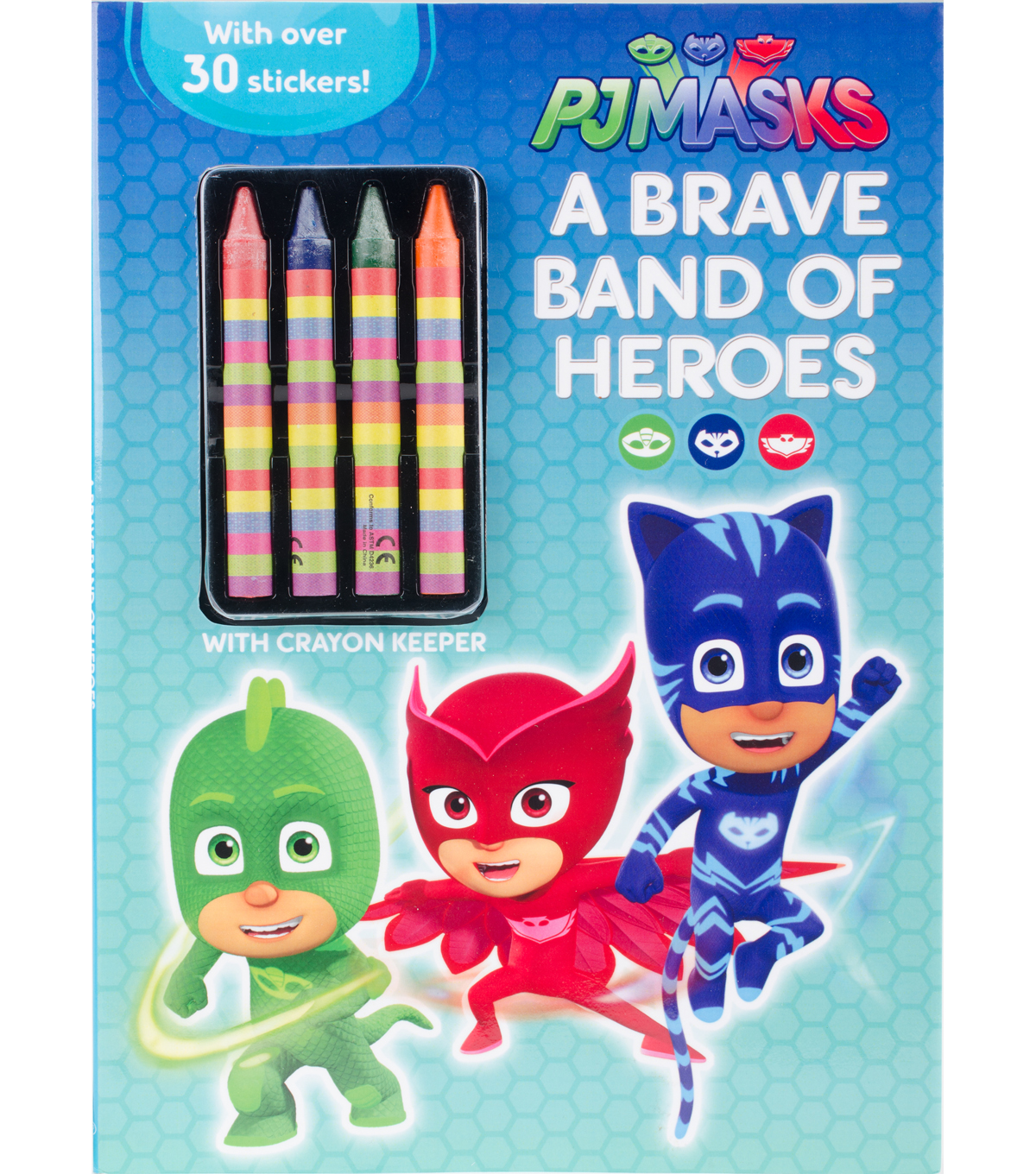 Parragon PJ Masks A Brave Band of Heroes Activity Book