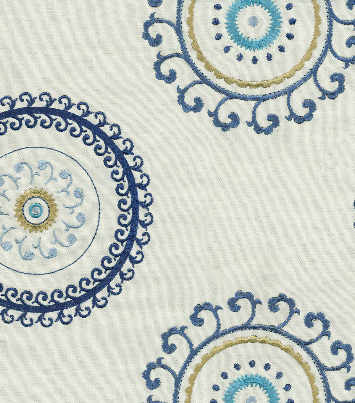 Waverly Multi-Purpose Decor Fabric 54\u0022-Randolph Aegean