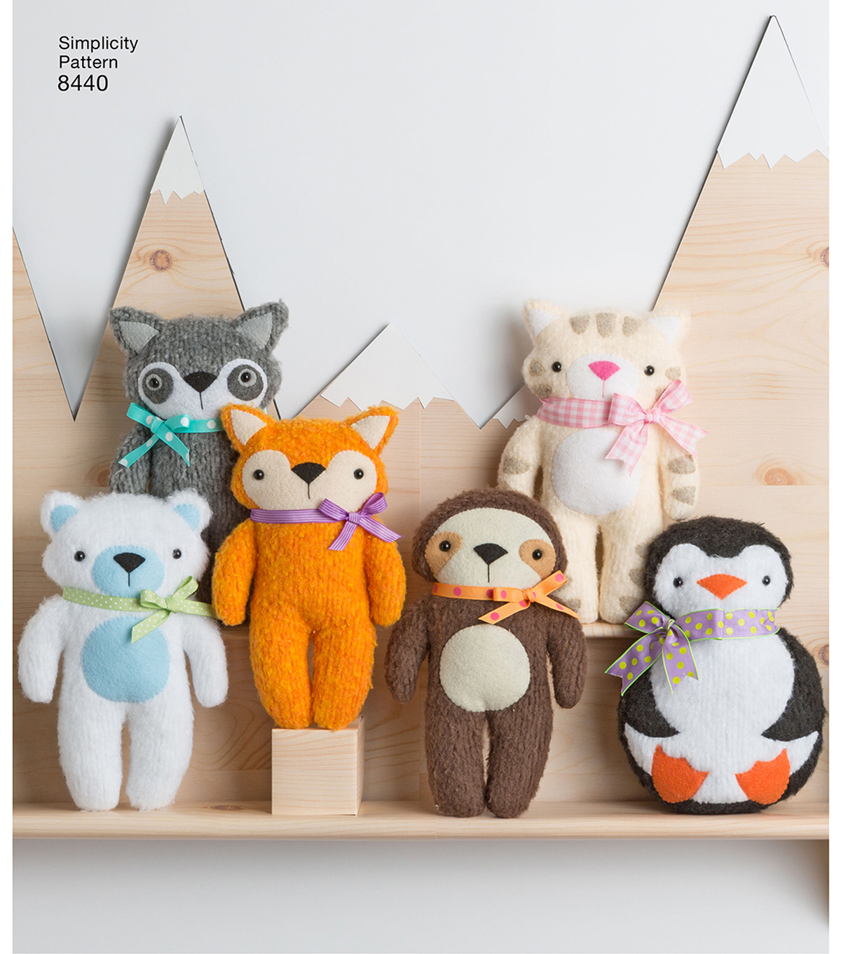 Stuffed Animal Patterns Simplicity New Inspiration Design