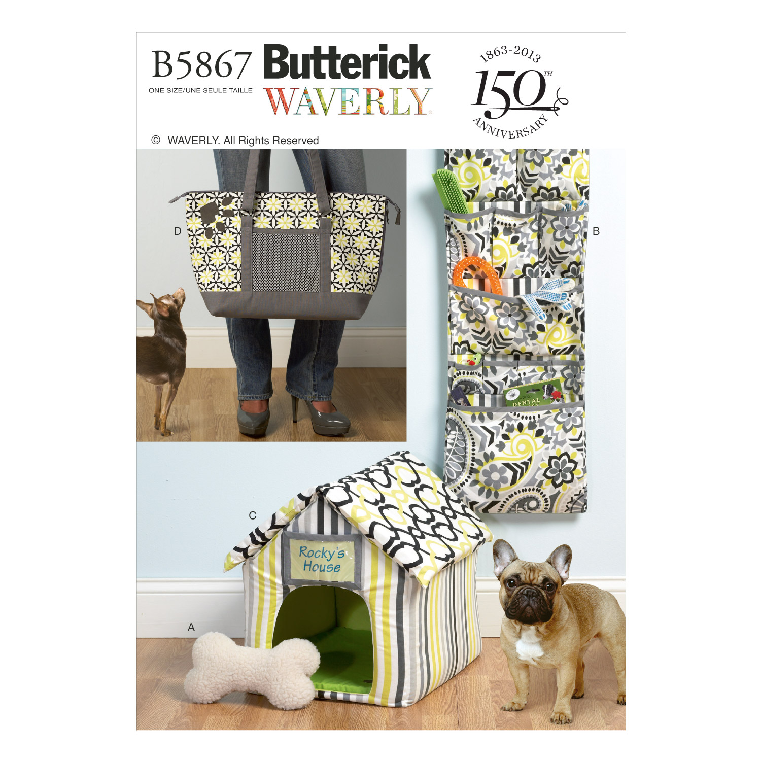 Butterick Crafts Pets-B5867