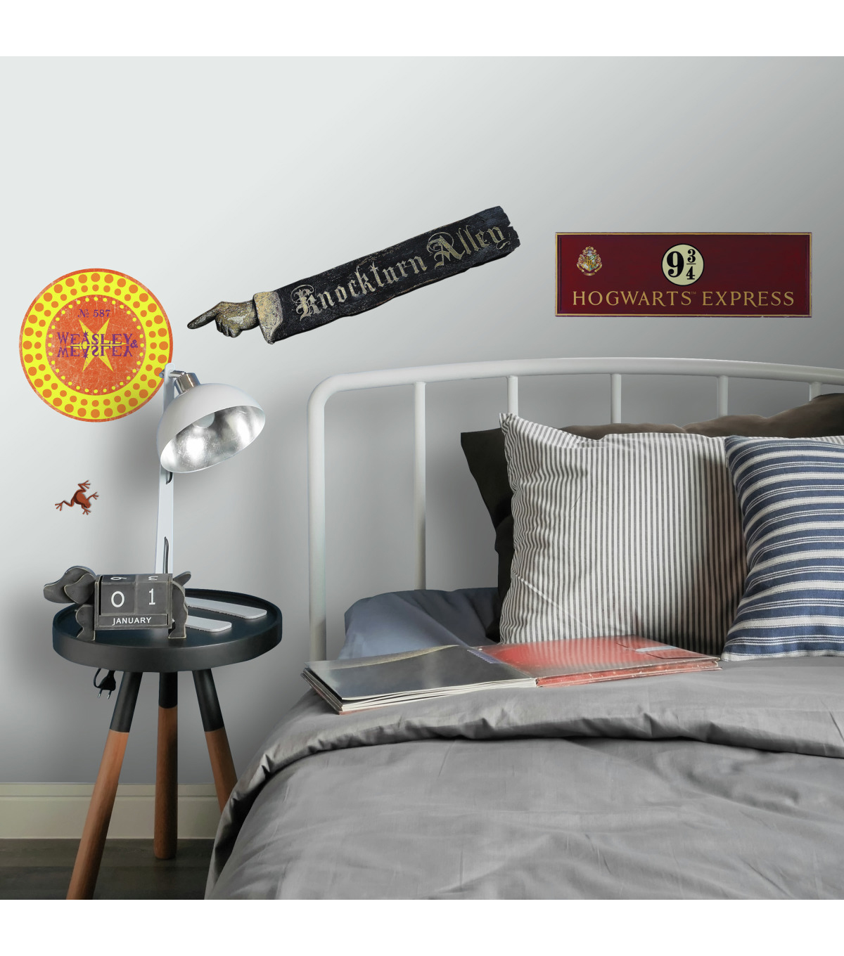 York Wallcoverings Wall Decals-Harry Potter Signs